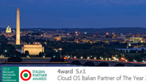 4ward awarded Cloud OS Partner of the Year