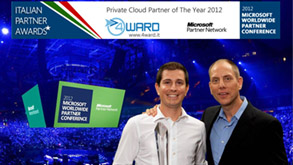 4ward awarded private cloud partner of the year