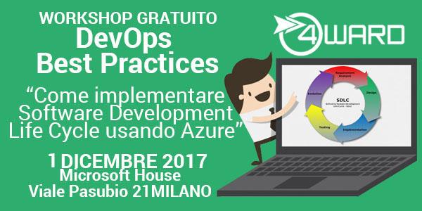 Workshop gratuito: Come implementare Software Development Life Cycle usando Azure