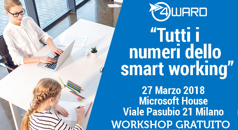 Workshop gratuito: tutti i numeri dello smart working