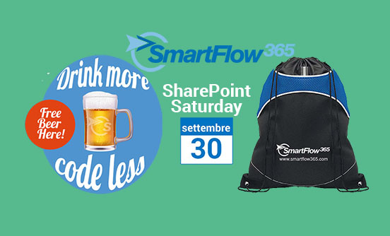 SharePoint Saturday – SmartFlow365 platinum sponsor