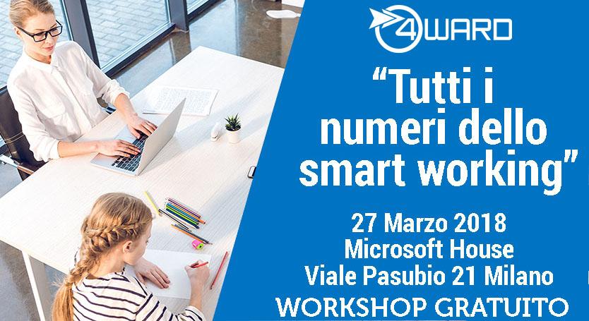 Workshop gratuito: tutti i numeri dello smart working