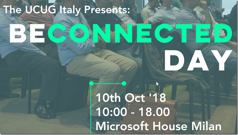 BE CONNECTED DAY!