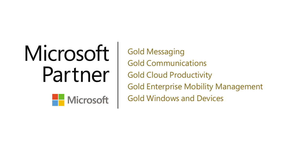 Modern Workplace – Microsoft Gold Partner