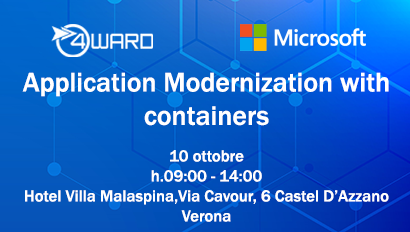 Application Modernization with containers