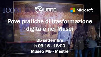 Prove pratiche di trasformazione digitale nei Musei