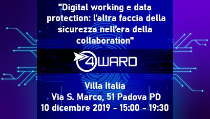 Digital working e data protection: l'altra faccia della sicurezza nell'era della collaboration