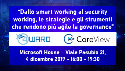 Dallo smart working al security working, le strategie e gli strumenti che rendono più agile la governance
