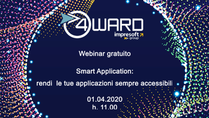 "Webinar gratuito""Smart Application: rendi le tue applicazioni sempre accessibili"""