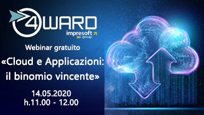 """Webinar """"Cloud e Applicazioni: il binomio vicente"""""""