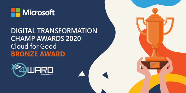 Microsoft Cloud for Good Bronze Award 2020
