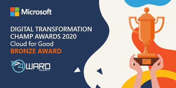 Microsoft Cloud for Good Bronze Award 2020