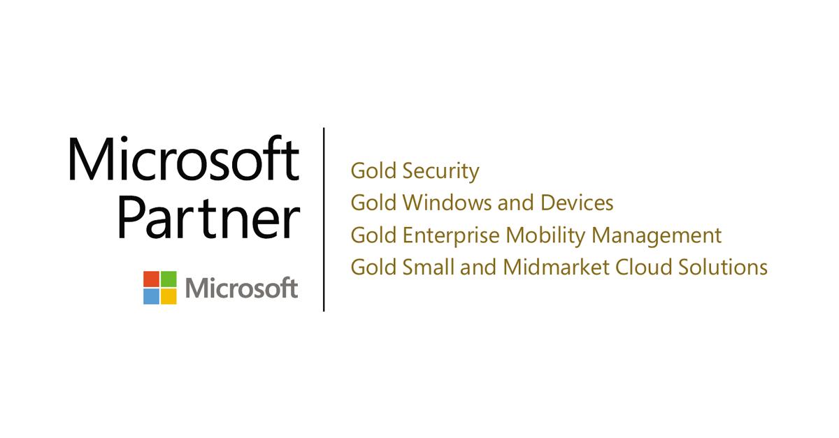 Microsoft Gold Competencies